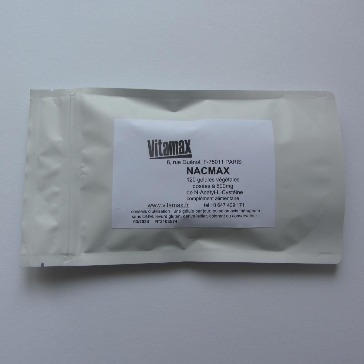 Nacmax 120600mg