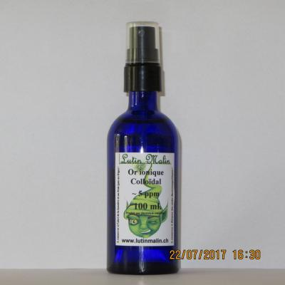Or 5ppm 100ml vapo