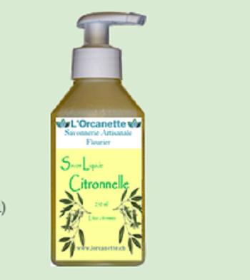 Savon liquide citronelle 1